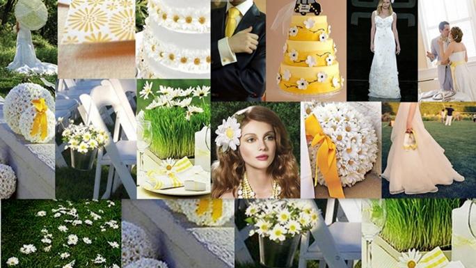 Сценарий ромашковой свадьбы